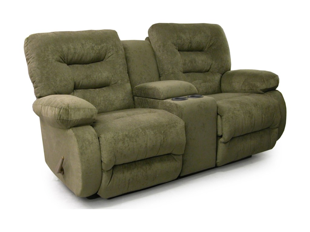 Best Home Furnishings MaddoxPower Rocker Console Loveseat
