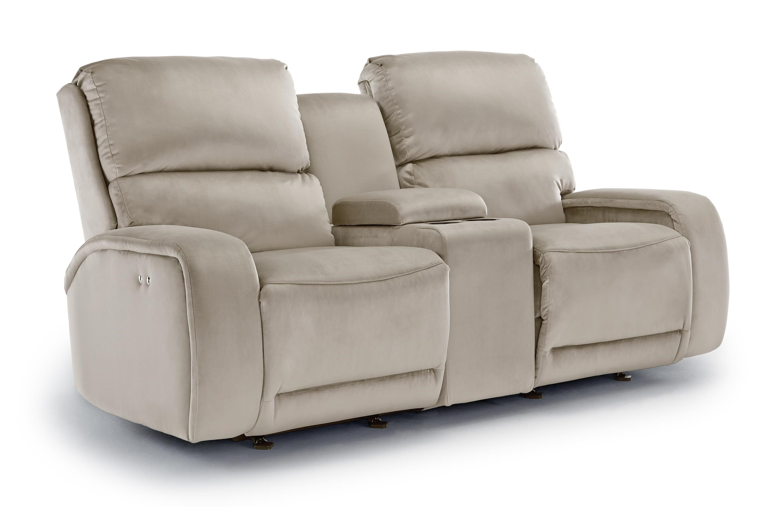 best home furnishings matthew rocking reclining loveseat with cupholder console great american home store reclining love seat
