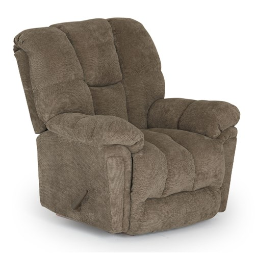 Best Home Furnishings Maurer Casual BodyRest Rocker Recliner