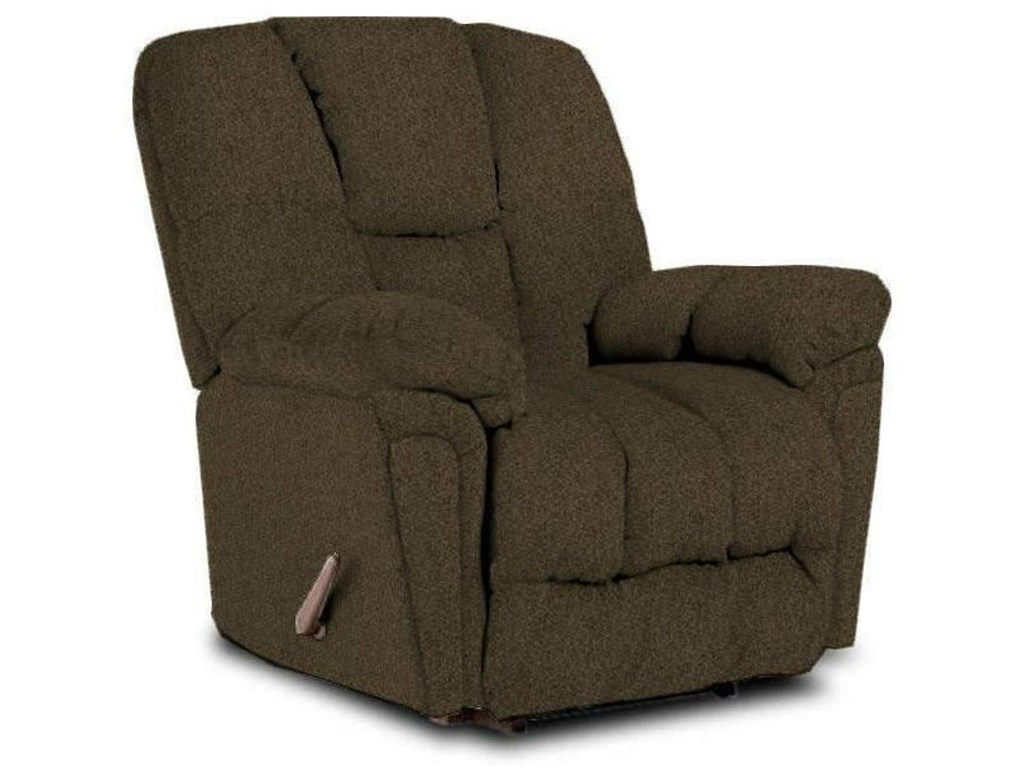 Best Home Furnishings MaurerHusk Bodyrest Rocker Recliner