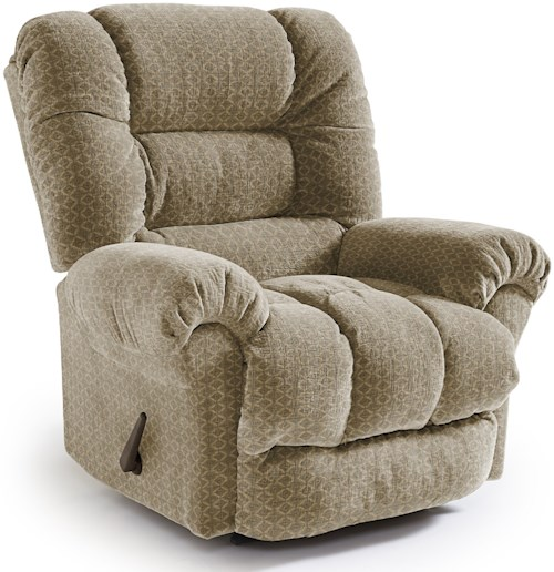 Best Home Furnishings Recliners - Medium Seger Swivel Gliding Reclining Chair