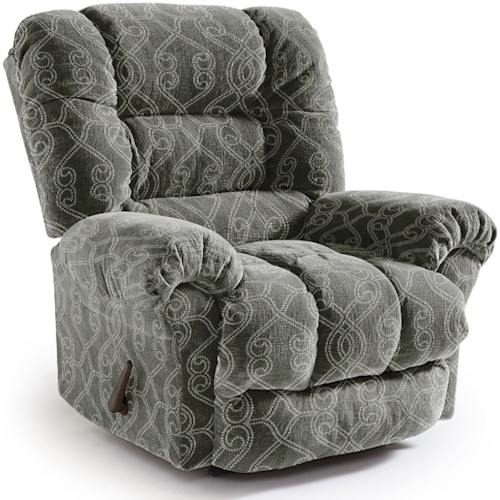 Best Home Furnishings Recliners - Medium Seger Swivel Gliding Reclining Chair