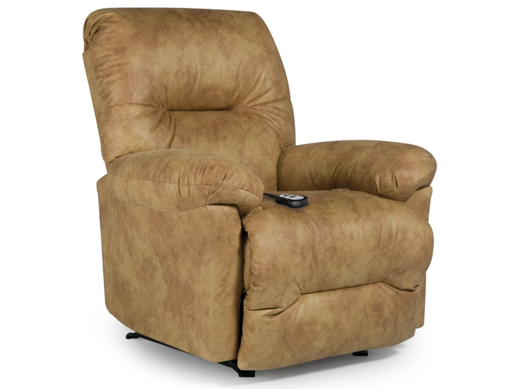 Best Home Furnishings Medium Recliners 6n21 Rodney Power Lift
