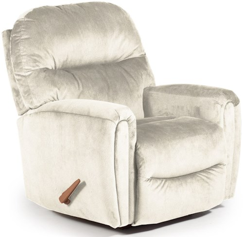 Best Home Furnishings Recliners - Medium Markson Rocker Recliner with Dome Arms