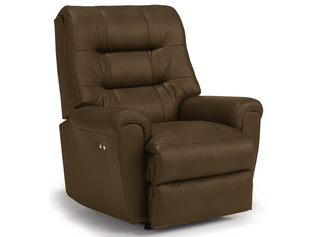 Best Home Furnishings Medium ReclinersLangston Power Rocker Recliner