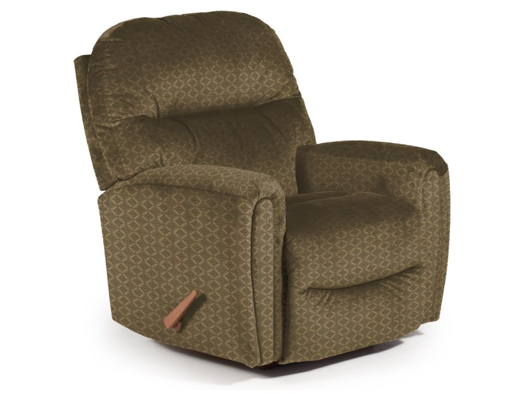 Best Home Furnishings Medium ReclinersMarkson Power Rocker Recliner