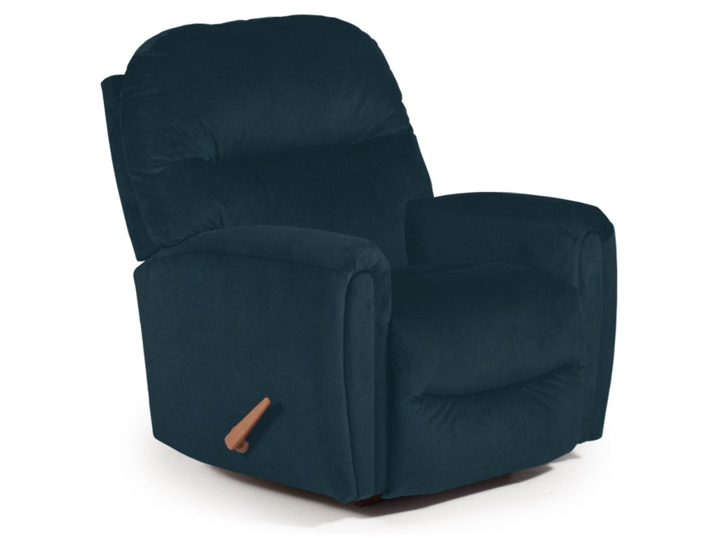 Best Home Furnishings Medium ReclinersMarkson Space Saver Recliner
