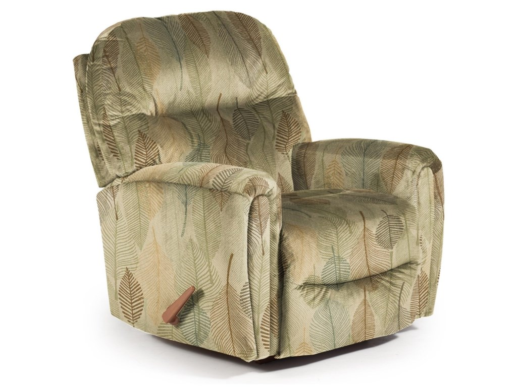 Best Home Furnishings Recliners - MediumMarkson Space Saver Recliner