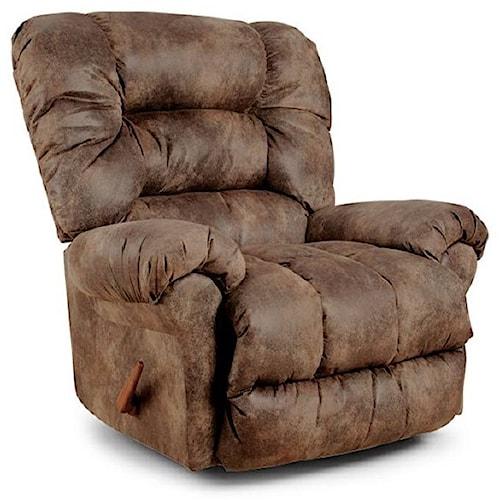 Best Home Furnishings Medium Recliners Seger Wallhugger Reclining Chair