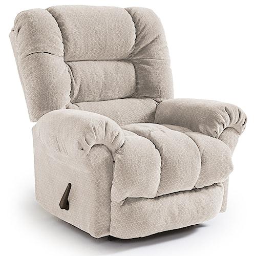 Best Home Furnishings Recliners - Medium Seger Wallhugger Reclining Chair