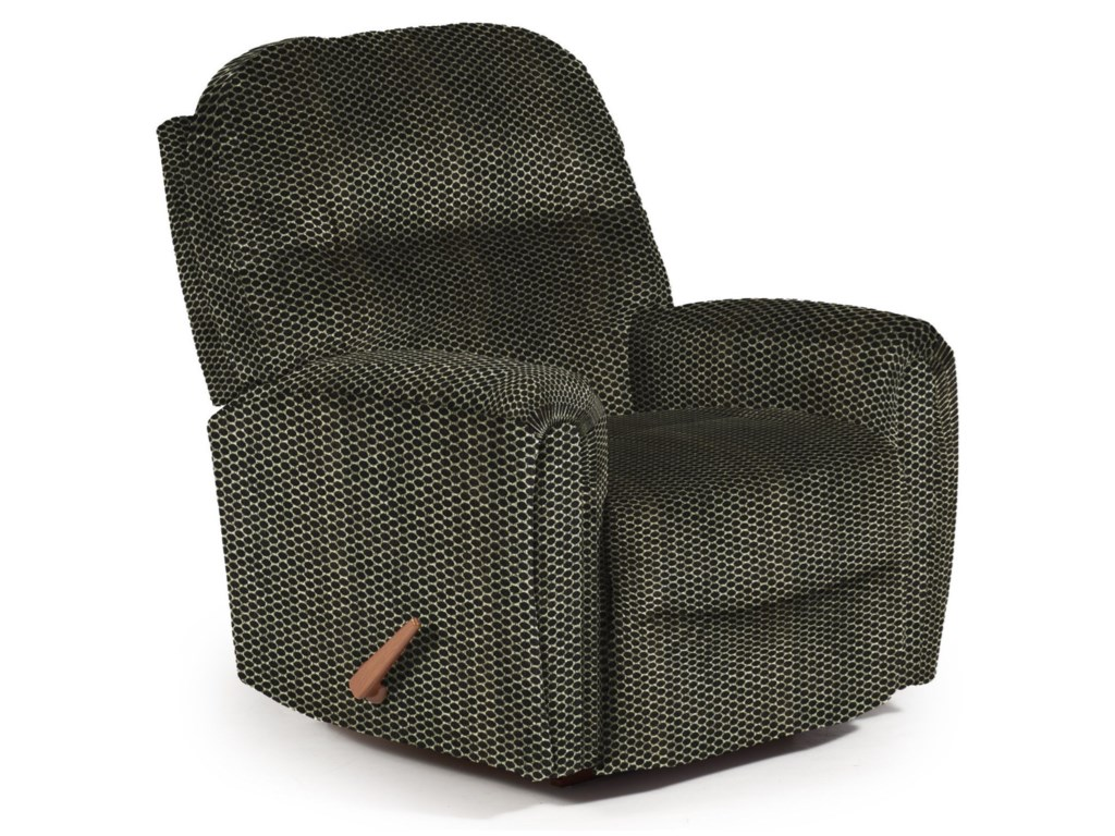 Best Home Furnishings Medium ReclinersMarkson Swivel Rocker Recliner