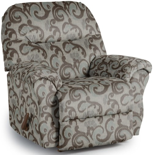 Best Home Furnishings Recliners - Medium Bodie Wallhugger Reclining Chair