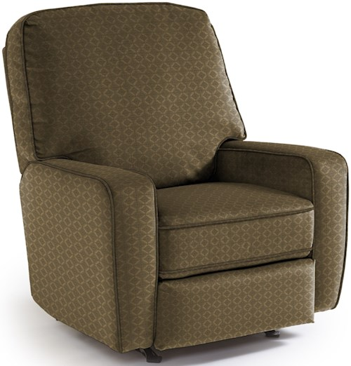 Best Home Furnishings Recliners - Medium Bilana Rocking Reclining Chair