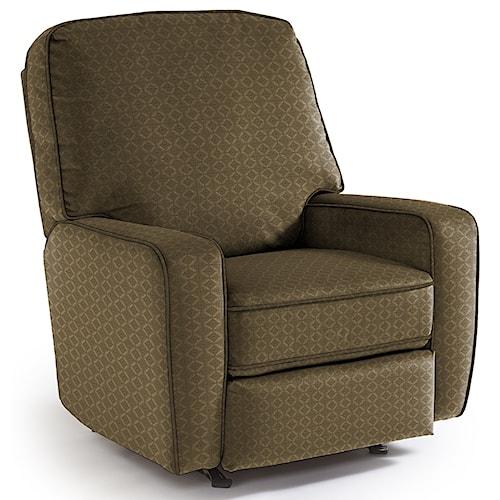 Best Home Furnishings Recliners - Medium Bilana Rocking Reclining Chair