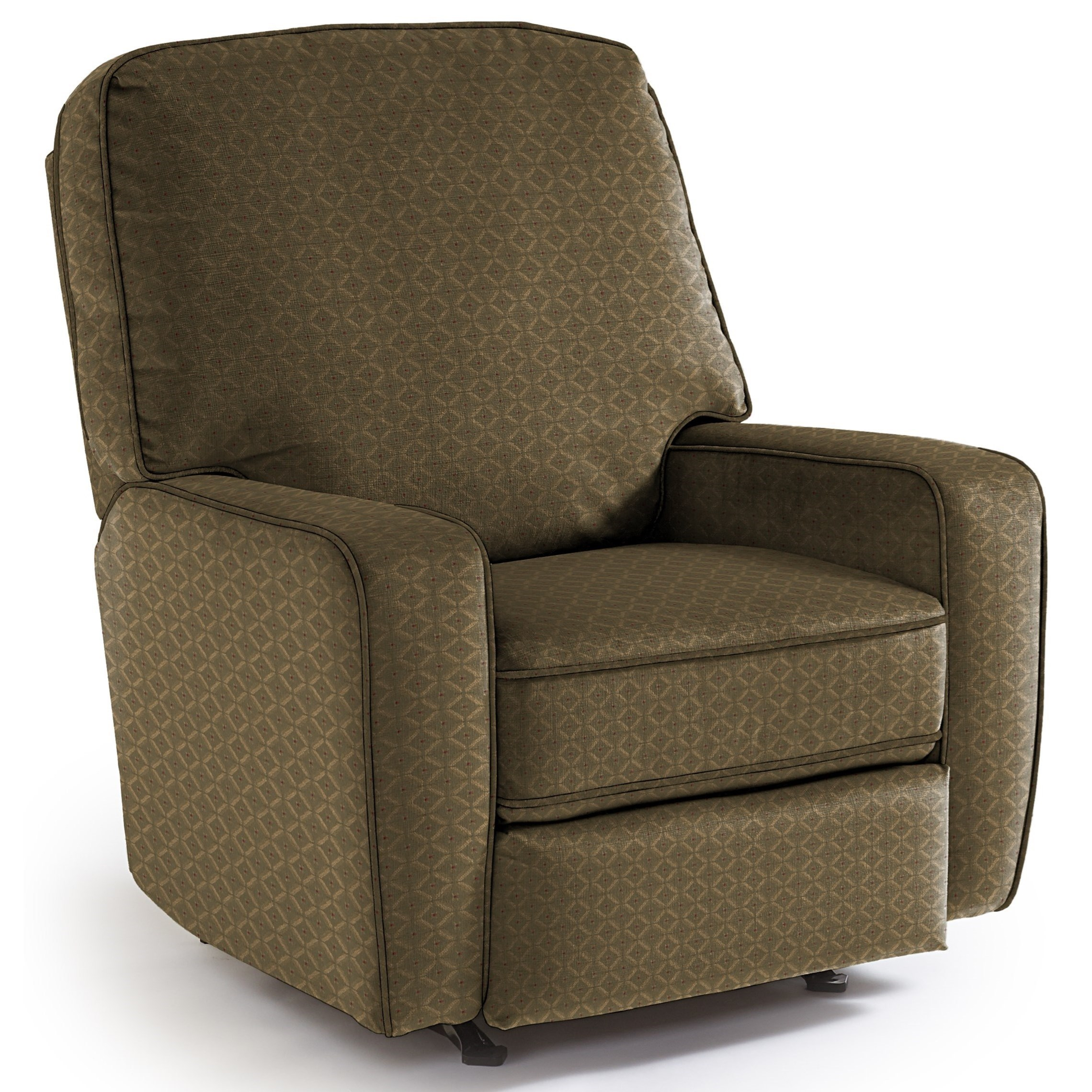 Best Home Furnishings Medium Recliners Bilana Rocking Reclining Chair