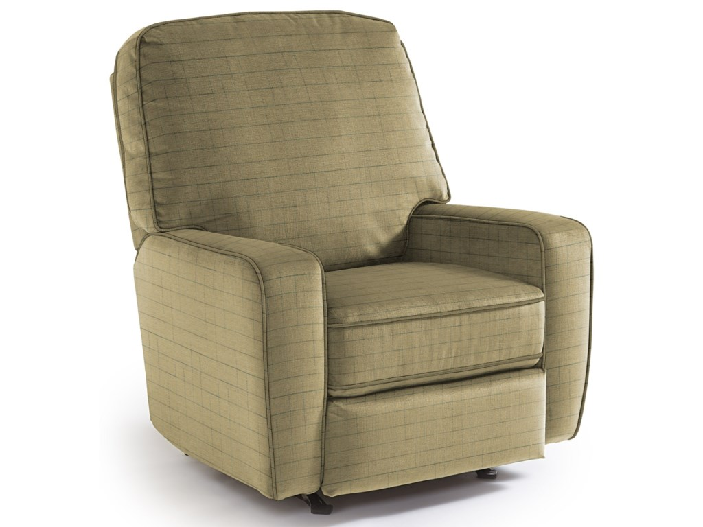 Best Home Furnishings Medium ReclinersBilana Rocker Recliner