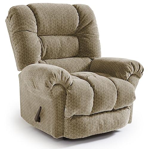 Best Home Furnishings Recliners - Medium Seger Swivel Rocking Reclining Chair