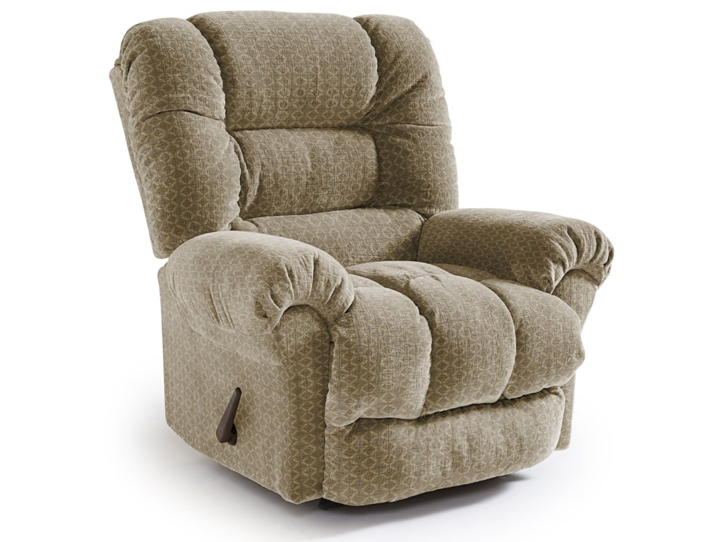 Best Home Furnishings Medium ReclinersSeger Swivel Rocker Recliner
