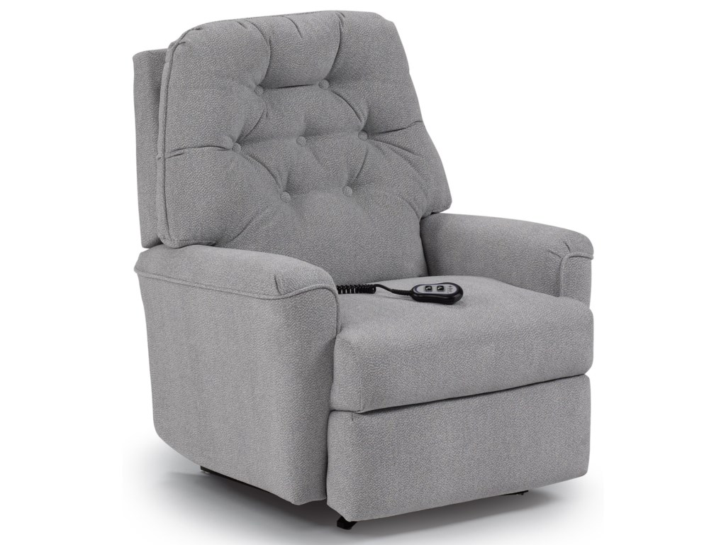 Best Home Furnishings Medium ReclinersCara Power Rocker Recliner