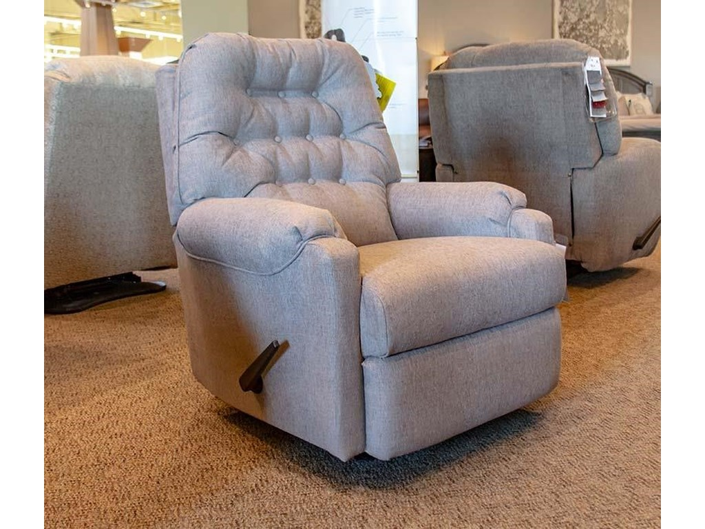 Best Home Furnishings Medium ReclinersSondra Dove Recliner