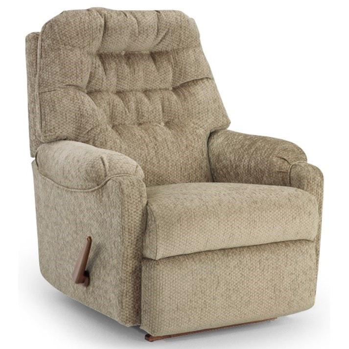 Best home furnishings medium reclinersrocker recliner