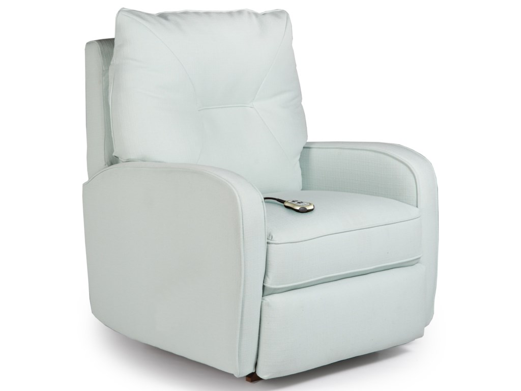 Best Home Furnishings Medium Recliners Contemporary Ingall Power