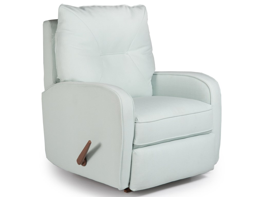 Best Home Furnishings Medium ReclinersIngall Rocker Recliner
