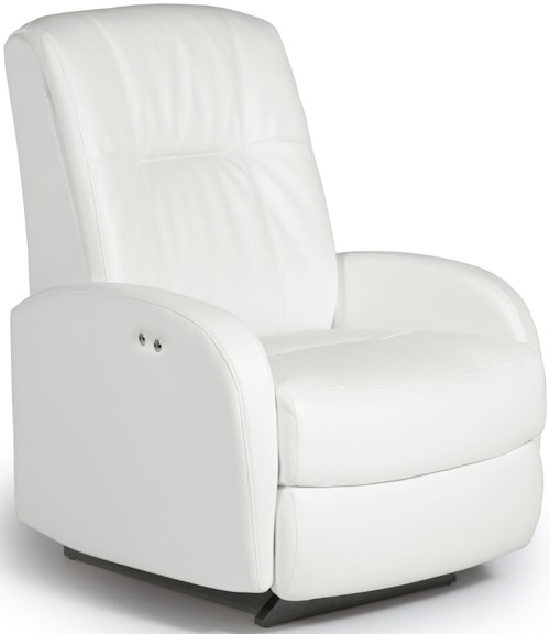 Best Home Furnishings Recliners - Medium Ruddick Swivel Glider Recliner