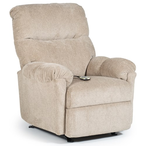 Best Home Furnishings Recliners - Medium Balmore Power Rocking Reclining Chair