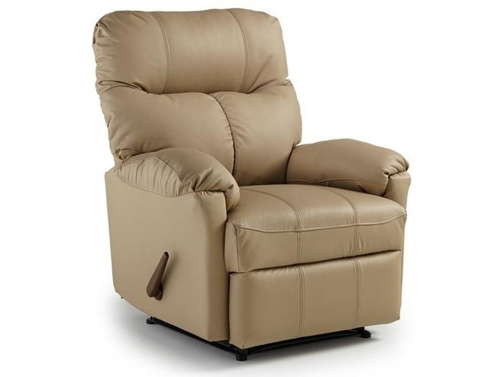 Best Home Furnishings Medium ReclinersPicot Power Rocker Recliner
