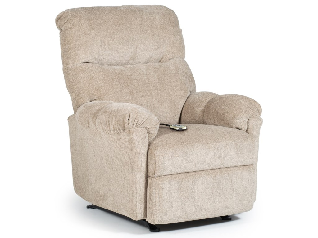 Best Home Furnishings Medium Recliners Balmore Power Lift Recliner