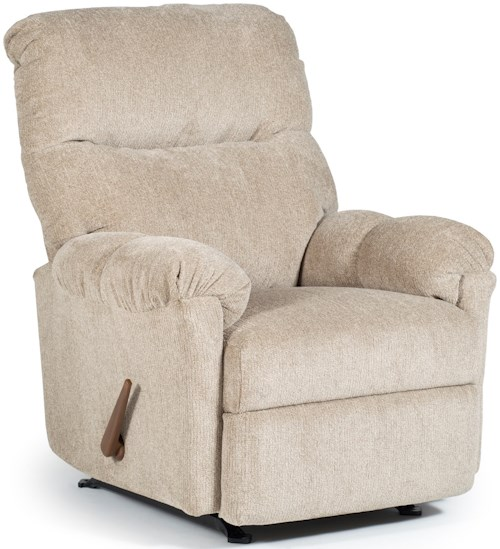 Best Home Furnishings Recliners - Medium Balmore Rocking Reclining Chair