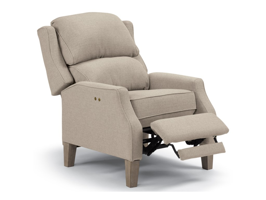 Best Home Furnishings Medium ReclinersPauley Three Way Power Recliner