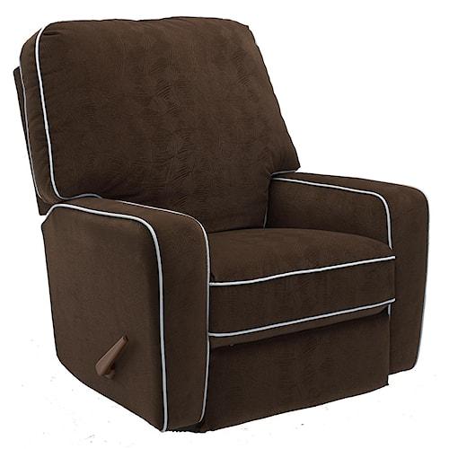 Best Home Furnishings Recliners - Medium Bilana Wallhugger Reclining Chair