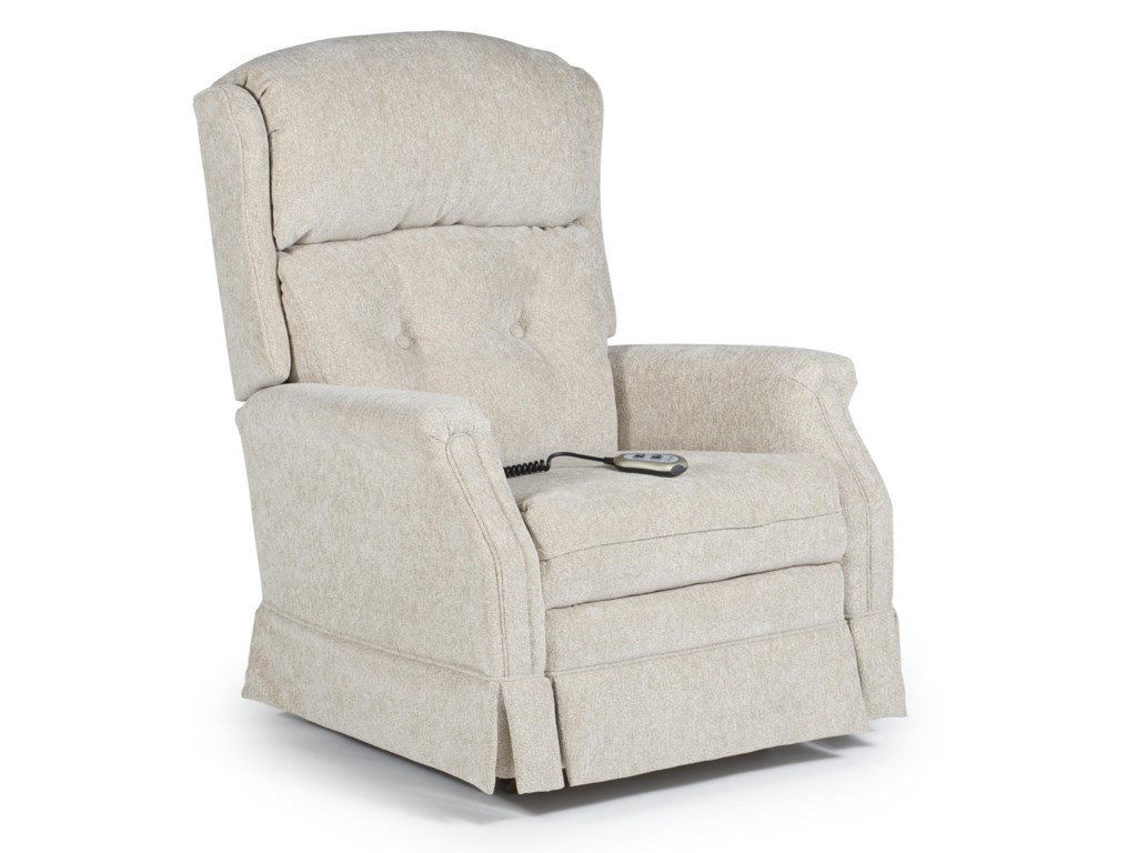 Best Home Furnishings Medium ReclinersKensett Power Recliner