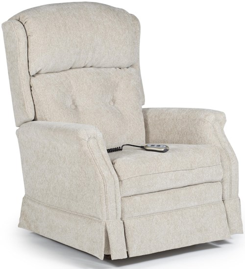 Best Home Furnishings Recliners - Medium Kensett Power Rocker Recliner