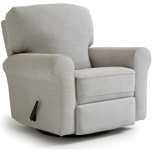 Best Home Furnishings Medium Recliners Irvington Rocker Recliner
