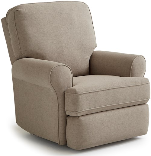 Best Home Furnishings Recliners - Medium Tryp Wallhugger Recliner with Inside Handle