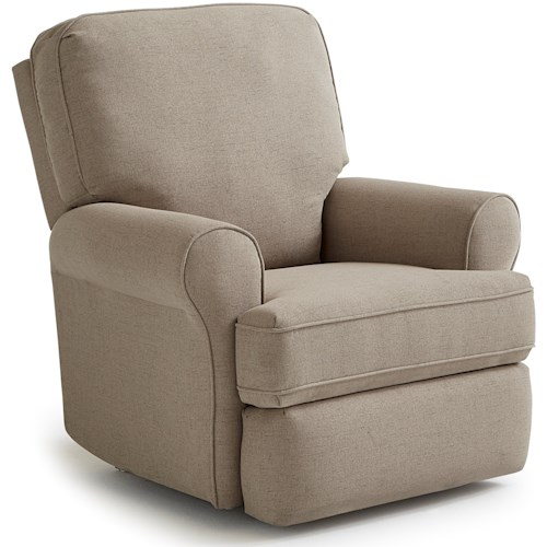 Best Home Furnishings Medium Recliners Tryp Wallhugger Recliner with Inside Handle
