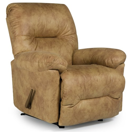 Best Home Furnishings Recliners - Medium Rodney Swivel Glider Recliner