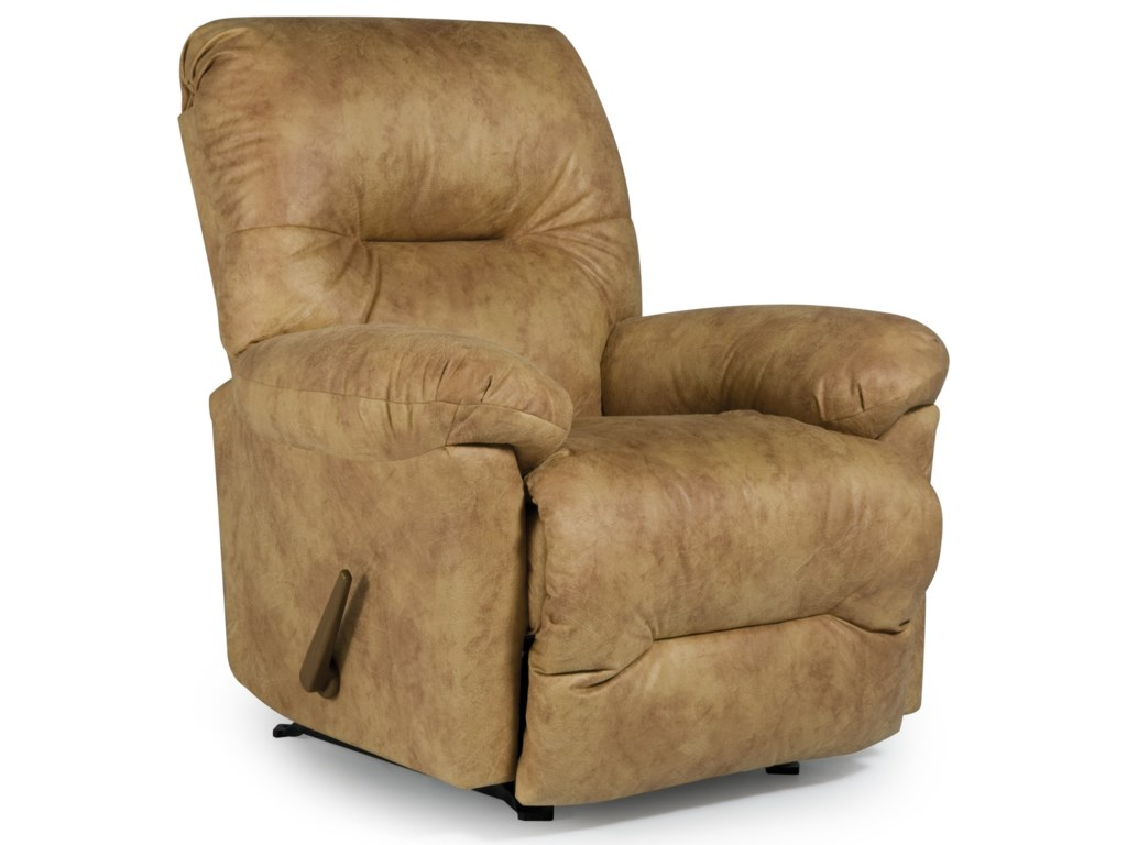 Best Home Furnishings Medium ReclinersRodney Swivel Rocker Recliner