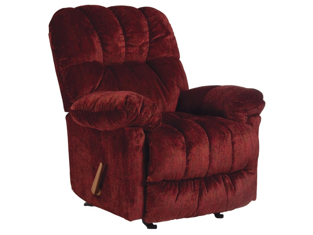 Best Home Furnishings Medium ReclinersMcGinnis Swivel Rocker Recliner