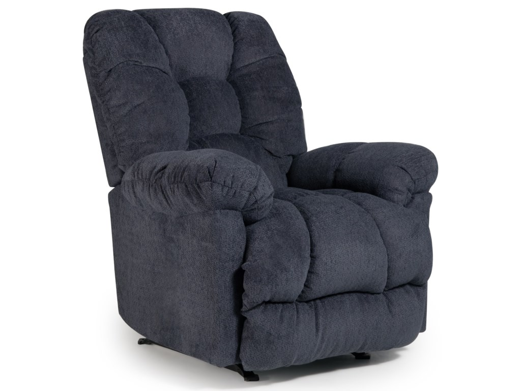 Best Home Furnishings Medium ReclinersOrlando Power Rocker Recliner