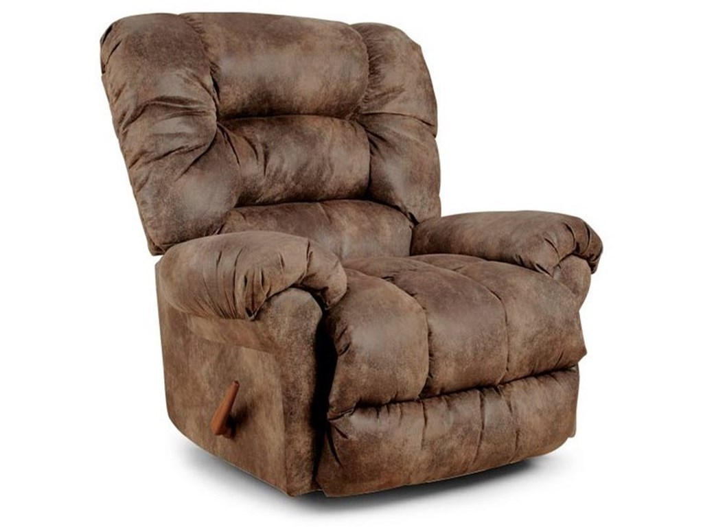 Best Home Furnishings Medium ReclinersSeger Power Space Saver Recliner