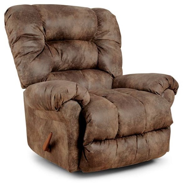 Best Home Furnishings Medium Recliners Seger Rocking Reclining Chair
