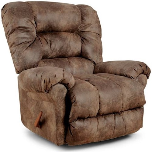 Best Home Furnishings Medium Recliners Seger Swivel Rocking Reclining Chair