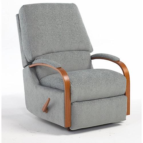 Best Home Furnishings Medium Recliners Pike Walhugger Reclining Chair