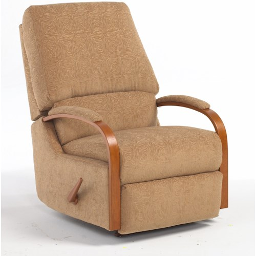 Best Home Furnishings Medium Recliners Pike Walhugger Reclining Chair