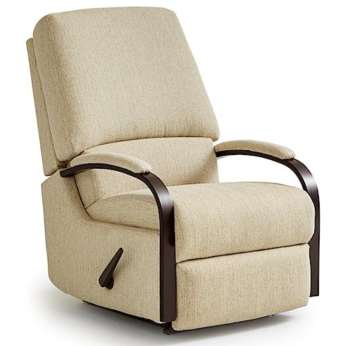 Best Home Furnishings Recliners - Medium Pike Walhugger Reclining Chair