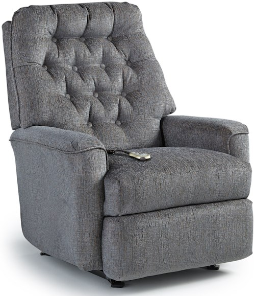 Best Home Furnishings Recliners - Medium Mexi Power Lift Reclining Chair